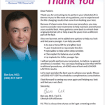 Thank you letter from Physician